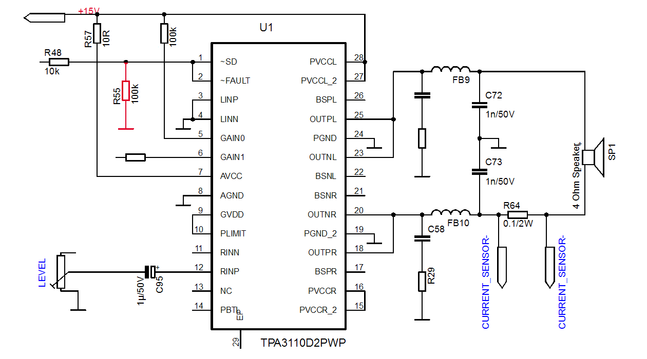 Tda7297 Mono Amplifier Circuit Diagram - Circuit Boards